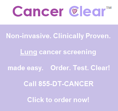 Cancer Clear - Lung Cancer Screening