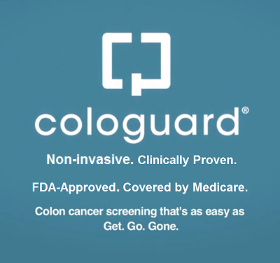 ColoGuard Clinically Proven. FDA-Approved. Covered by Medicare.