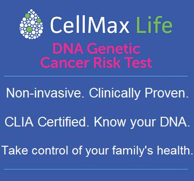 CellMax Life - DNA Genetic Cancer Risk Test